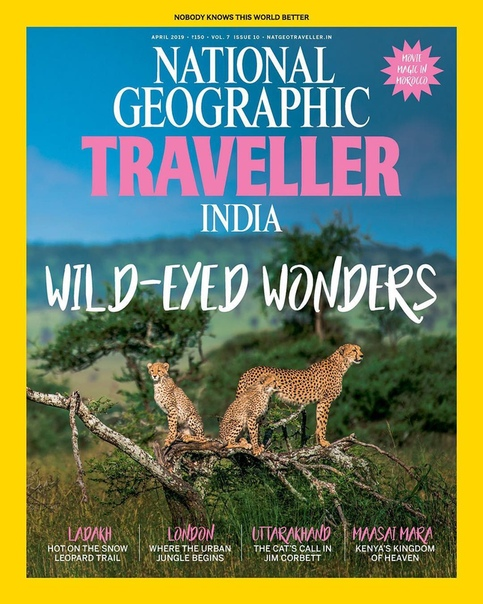 National Geographic Traveller India - April 2019