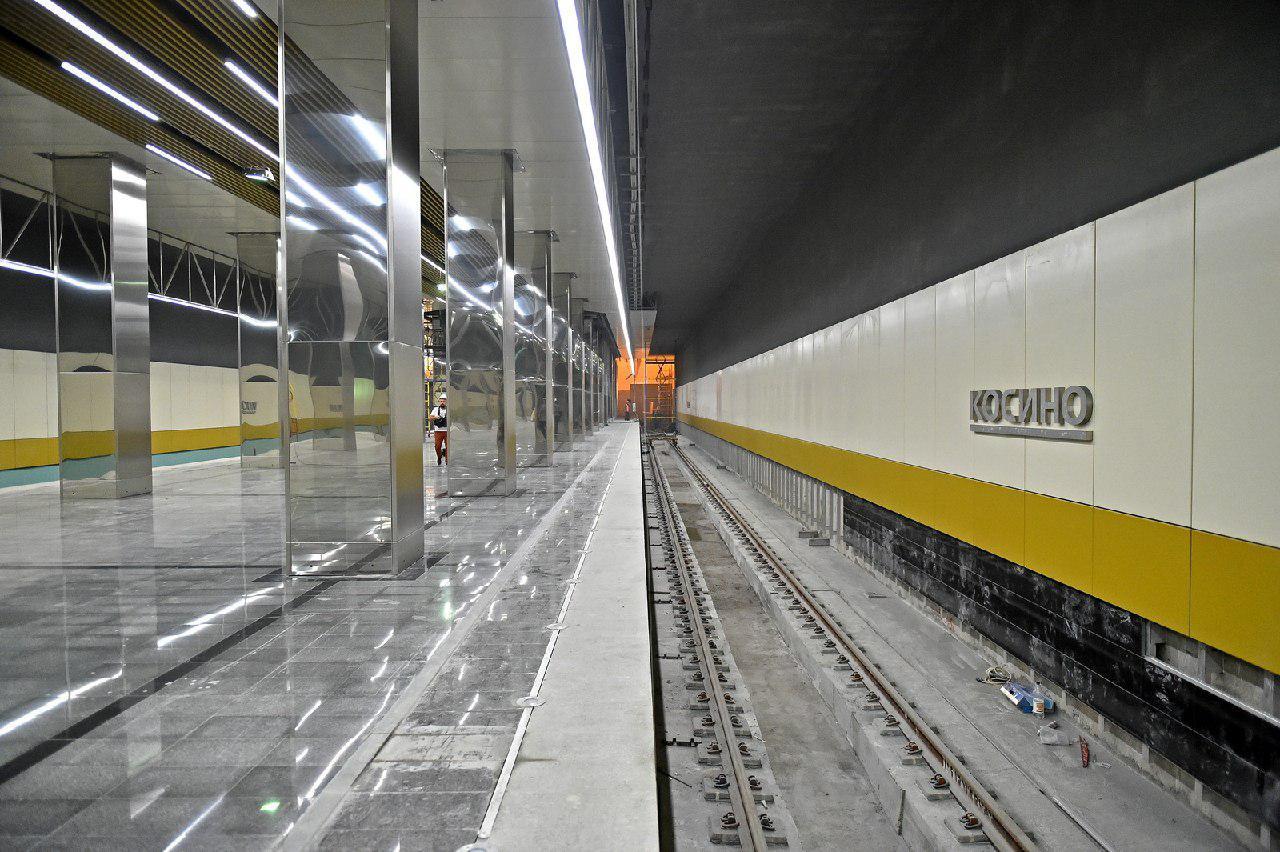 Станции метро «Выхино», «Косино», «Лермонтовский проспект» и «Жулебино» будут принимать пассажиров в ночь с 7 на 8 сентября