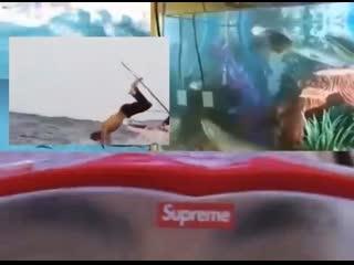 Supreme / cressi snorkel set