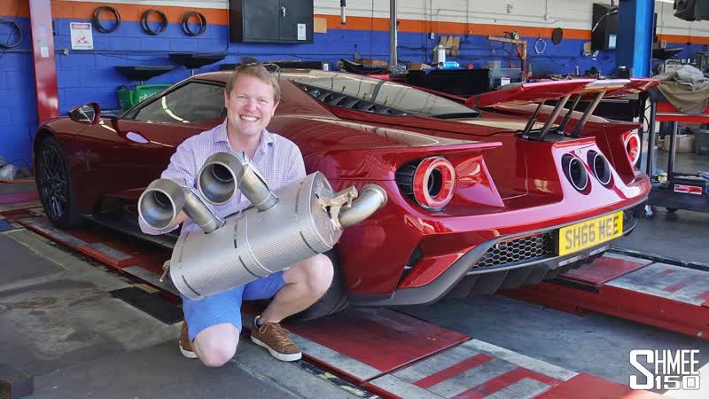 This Akrapovic Titanium Exhaust TRANSFORMS My Ford GT!
