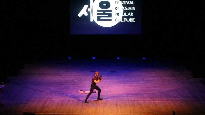 GraysonFin -Leon Scott Kenedy Resident Evil 4(Москва) - FAP 2019. Festival of Asian Popular culture