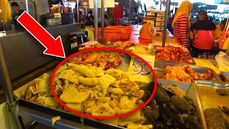 ЖЕСТЬ НА САМОМ ДЕШЕВОМ продуктовом рынке в Паттайе Ратанакорн Маркет или Утренний рынок у Колизея