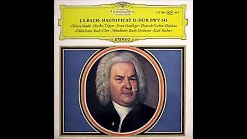 KARL RICHTER - Bach J.S. – Magnificat in D Major, BWV 243 – 1961