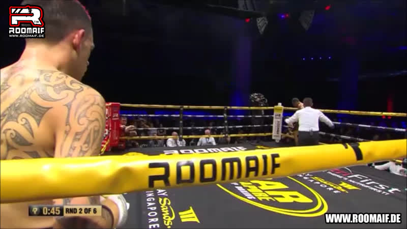 ROOMAIF An Explosive Night of Boxing Cairo George VS Gustaf Benyamin Nino