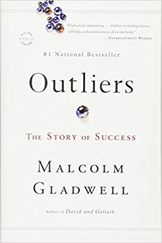 Book cover Malcolm Gladwell - Outliers The Story of Success