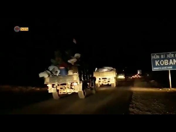L arm e syrienne est entr e dans la ville de Koban