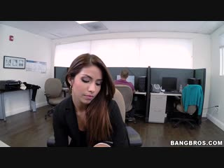 Isabella de santos (aka isabella taylor) horny latina fucked at the office |hd|