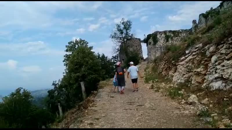 Крепость Анакопия восхождение