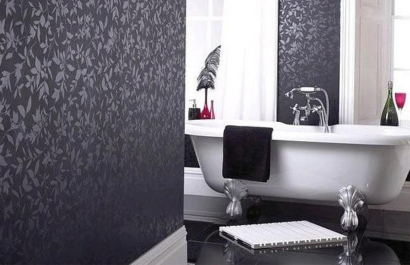 Обои для ванной комнаты — какой тип, цвeт и тeкстуpу лучшe выбpать?, изображение №2