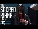 Scariest Magician EVER! The Sacred Riana All Auditions And Performances   America's Got Talent 2018