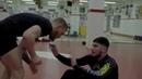 борьба МакГРЕГОРА с ДИЛЛОНОМ ДЭНИСОМ - тренировка | McGREGOR`s wrestling with DILLON DANIS