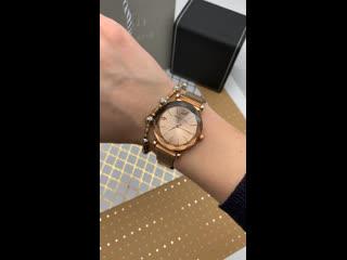 Часики в розовом золоте шикарный безель ЦЕНА 2000