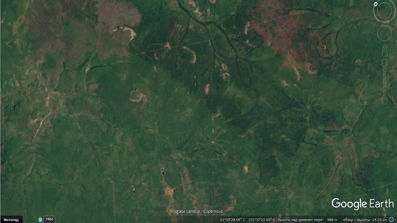Геоглиф в Красноярском крае