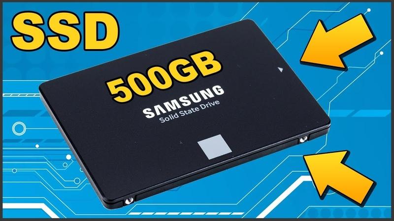 ✅ ОБЗОР SSD диска Samsung 860 EVO на 500 Gb 💾