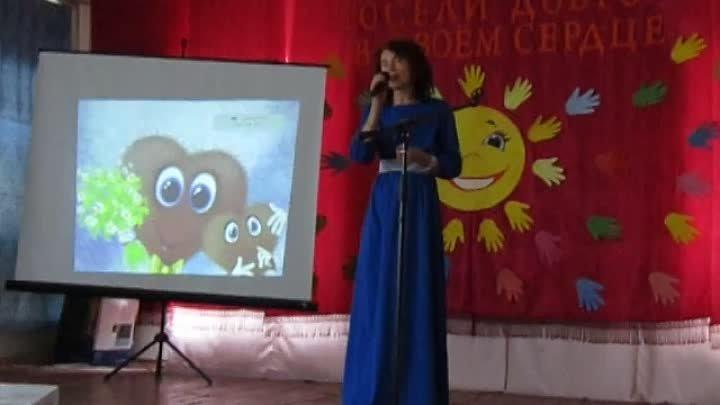 Елизавета Барабашова песня Доброта в Ширяевской СОШ на празднике Посели добро в своём сердце 30 апреля