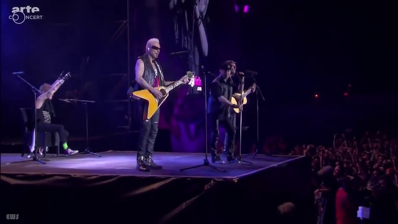 Always Somewhere Eye of the Storm Send Me an Angel Scorpions Live at Hellfest 2015