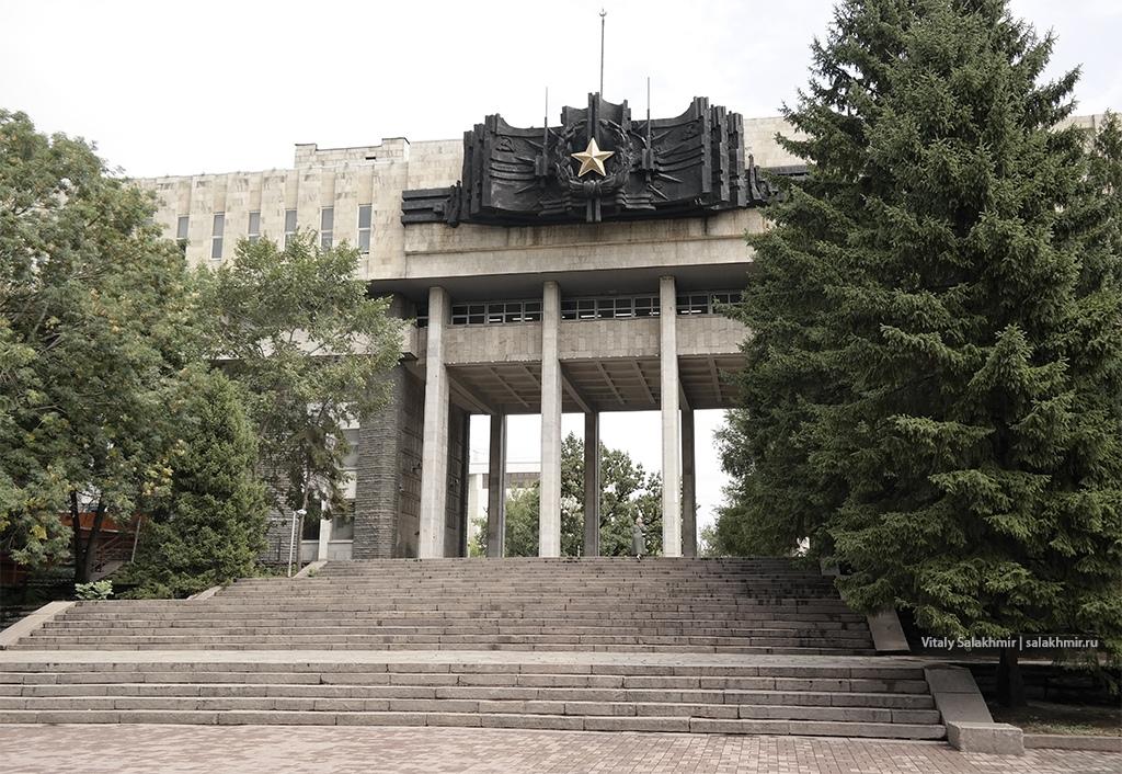 Дом офицеров в Парке 28 панфиловцев, Алматы 2019