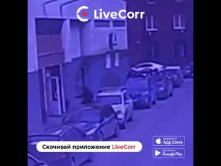 Момент расстрела мужчины на юге Москвы