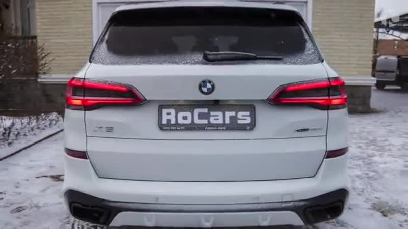 BMW X5 M Sport 2019 Drive and Exhaust Sound