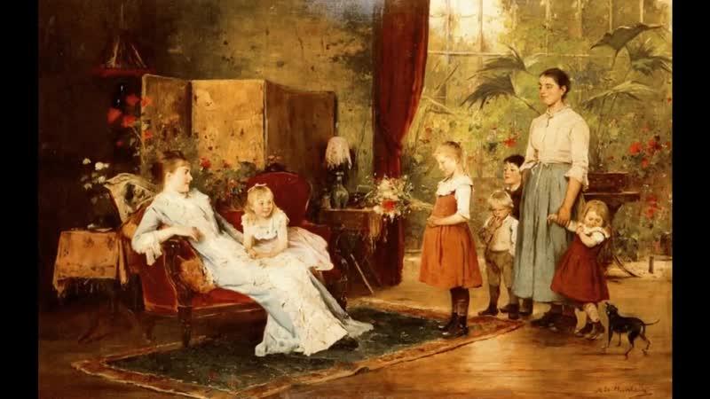 Мункачи (1844-1909) (Munkacsy Michel (Mihaly) Lieb) картины великих художн.