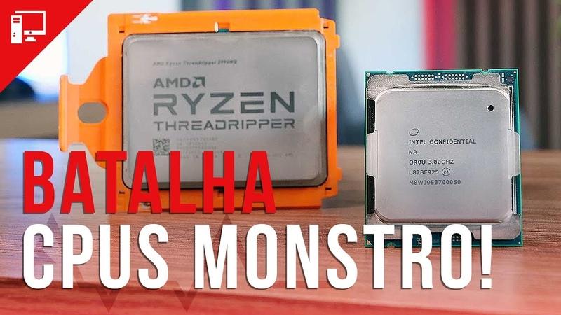 AMD Threadripper Ryzen 2990WX (32C64T) vs Intel Core i9-9980XE (18C36T)