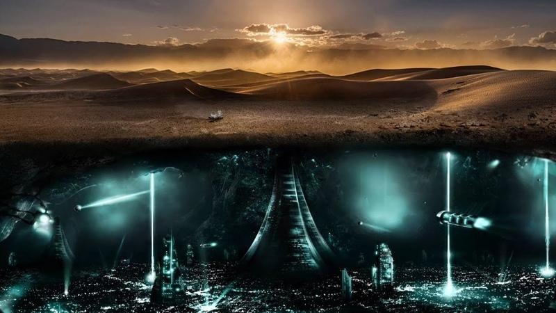 Пустыня рухнет Города под песками Земли отстроили Марсиане