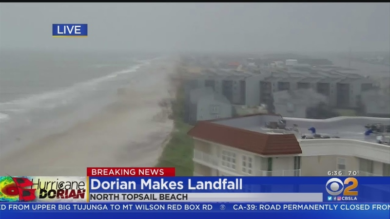 Dorian Now A Category 1 Hurricane Makes Landfall