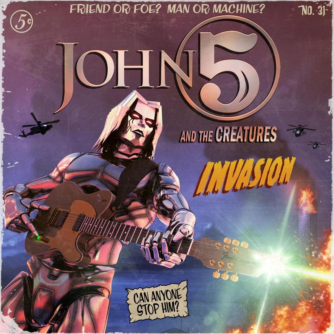 John 5 & The Creatures - Invasion