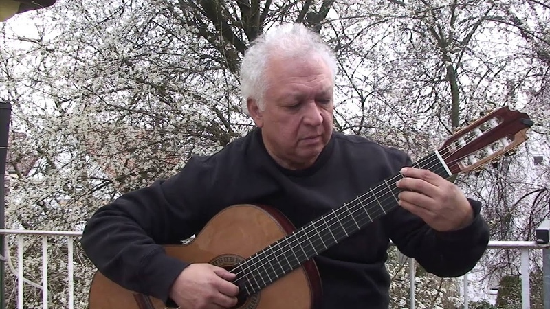 Alfonso Montes plays Preludio Para Una Rosa by Venezuelan Composer Jorge Benzaquén