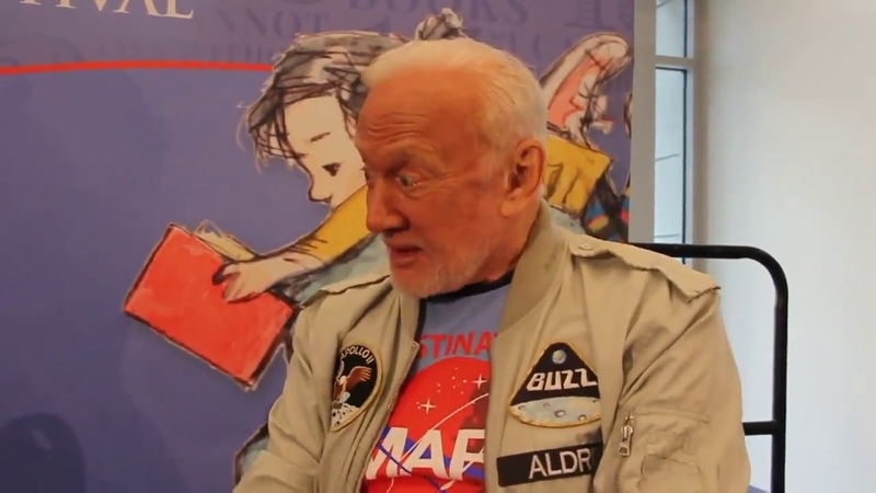 Buzz aldrin confesses we did'nt go to the moon