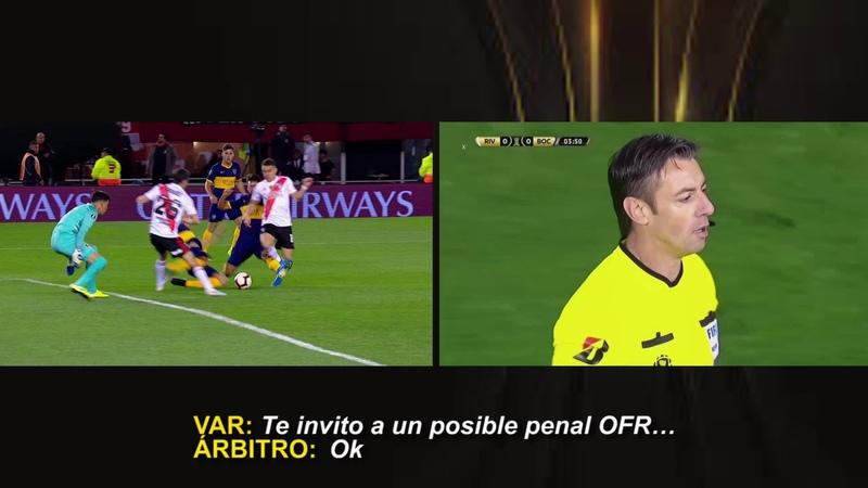 River Plate (ARG) vs Boca Juniors (ARG) / Minuto: 3'