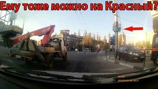 Перекрёсток Игнора. 7 нарушений ПДД за 1,5 минуты. 2 маршрутки, 2 ГАЗели, 2 KIA и Фура
