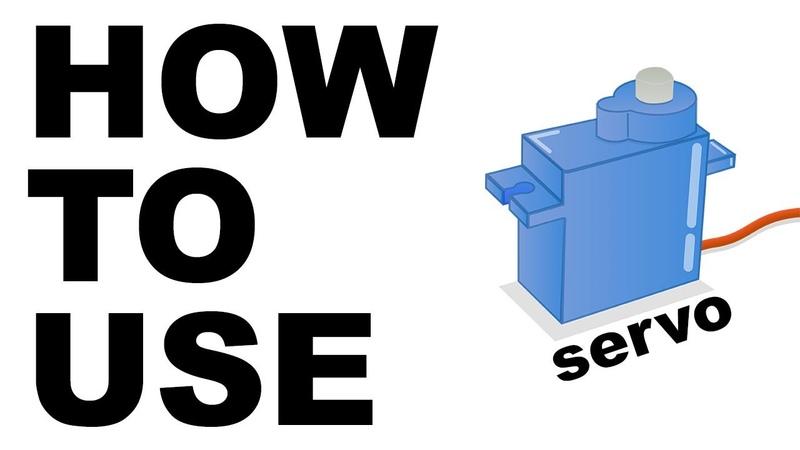 HOW TO USE a servo motor with Raspberry Pi