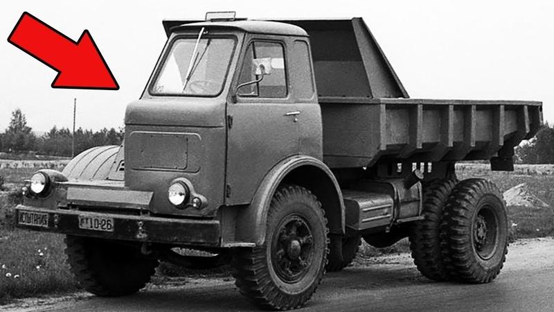 Одноместный Советский МАЗ! Экспериментальный самосвал 60-х!