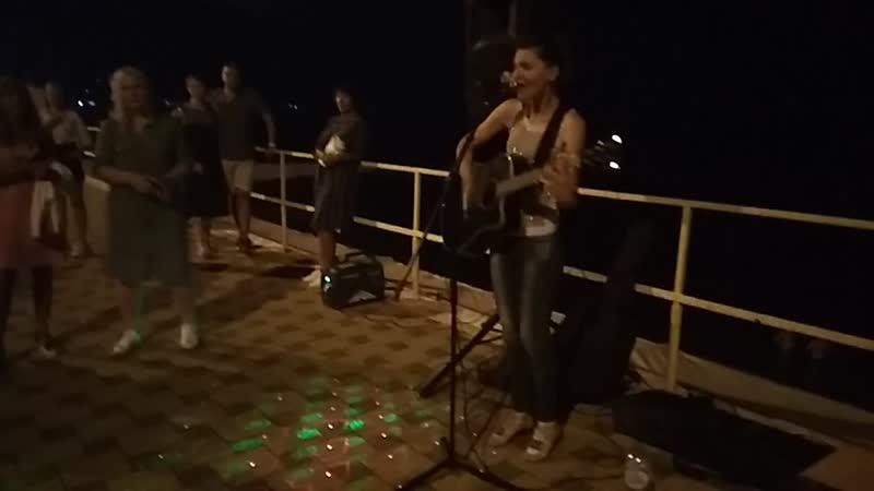 Концерт в Алуште Наталья Свободина