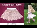 Jupe qui tourne Tutoriel Couture Facile Débutant