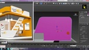 Tutorial on Modeling texturing and lighting a 3d stall in 3ds max using Vray Part 2