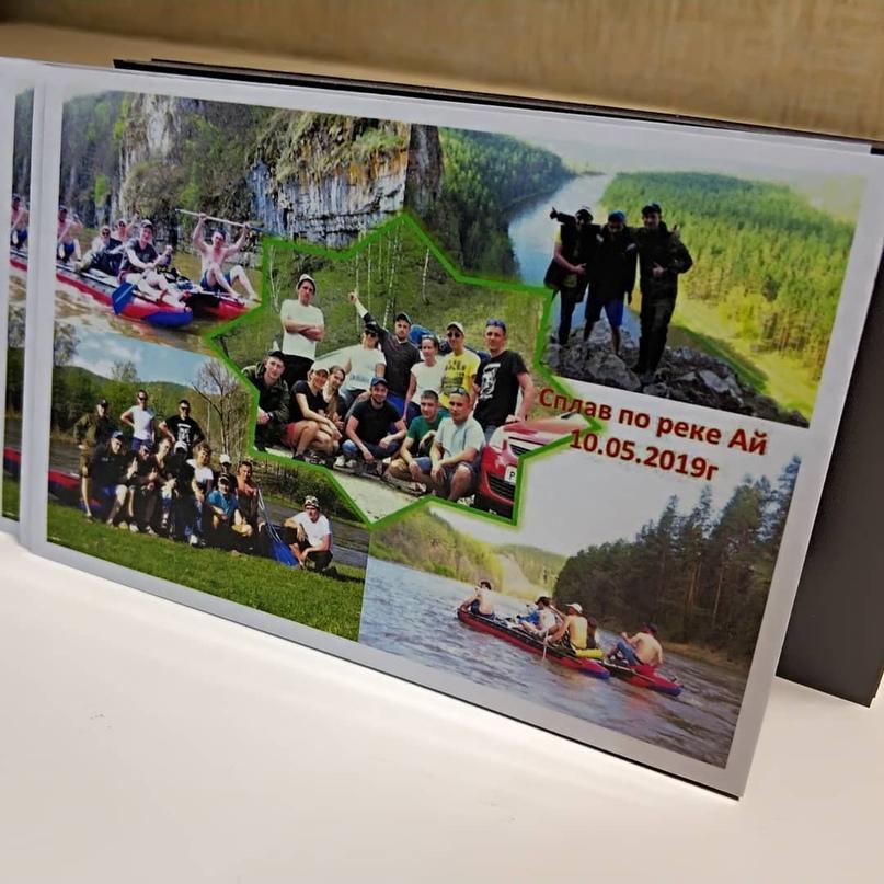 Магнитные открытки. Цветная цифровая печать на самоклеющейся бумаге, ламинация глянцевая, основа магнитный - Типография Седьмой Легион