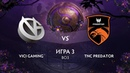 Vici Gaming vs TNC Predator игра 3 BO3 The International 9 Плей-офф День 1