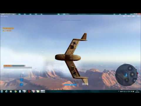 медаль Голубева на самолете Blohm und Voss P 210 в игре World of Warplanes