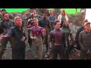Интересное видео №4 - За кадром фильма Мстители_ Финал