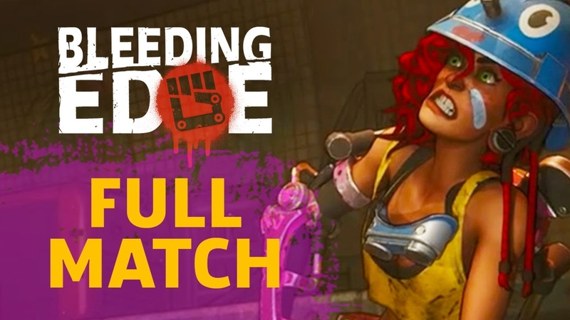 Full Match of Bleeding Edge Gameplay Technical Alpha