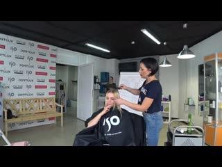 Окрашивание в блонд без желтизны. плавная растяжка цвета. видео тренинг по колористике для новичков