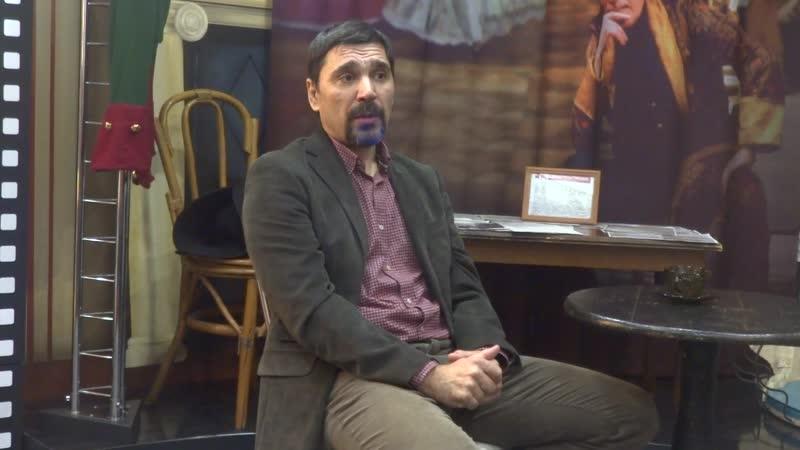 15 12 2019 встреча с актёром Константином Телегиным