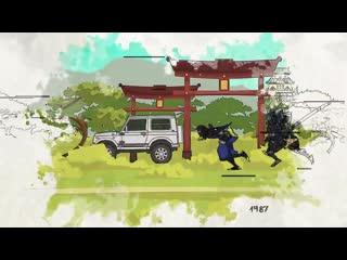 50 years of legend. suzuki jimny. way of ninja.