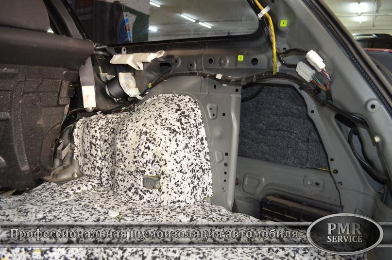 Шумоизоляция Subaru Outback, изображение №9