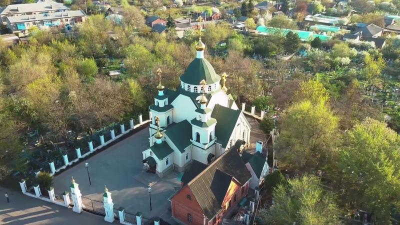 Аэросъемка, станица Багаевская | река Дон | DJI Mavic Pro