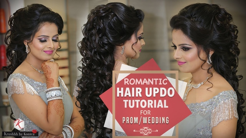 Best Party Hairdo Tutorial Step By Step Party Hairstyle Tutorial Krushhh By Konica