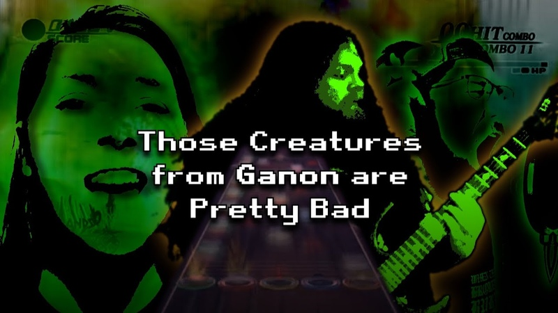 Those Creatures from Ganon are Pretty bad - Andri from Pagefire (Official Music Video)