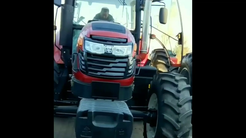 China shandong 220hp tractor lawn tractor mini tractor